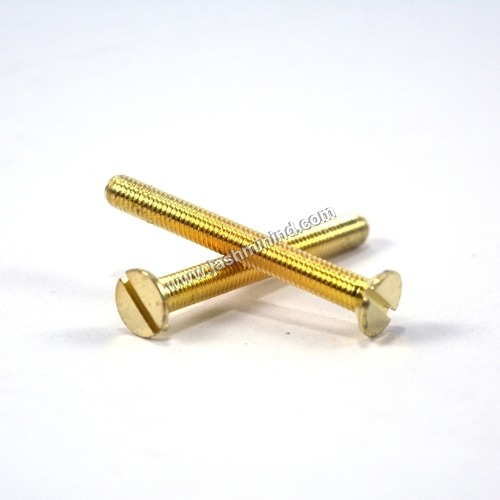 Flat Head Brass Screws