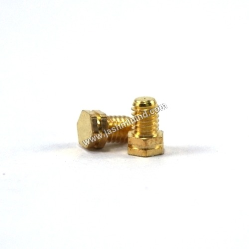 Double Hex Brass Screws