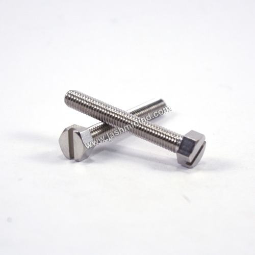 CP Finished Brass Hex Slotted Head Screws