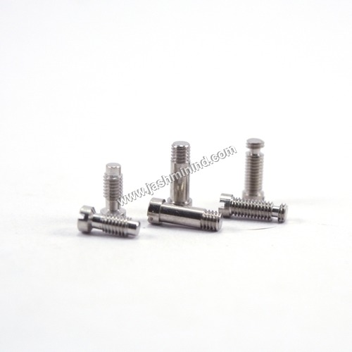 Brass Shoulder Half Threaded Screws