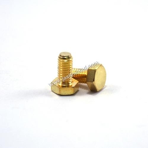 Brass Hex Screws