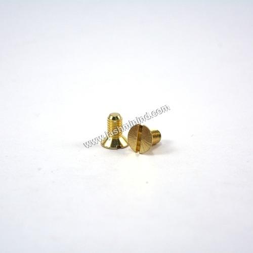 Brass Flat Head Screws