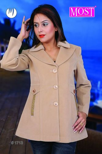 Ladies Semi Long Coat