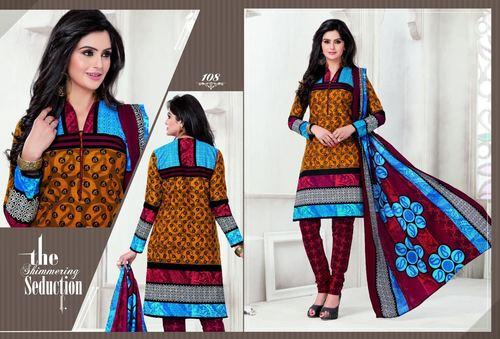 Sitara Printed Cotton Suits