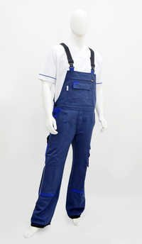 Bi-colour Bib Trouser