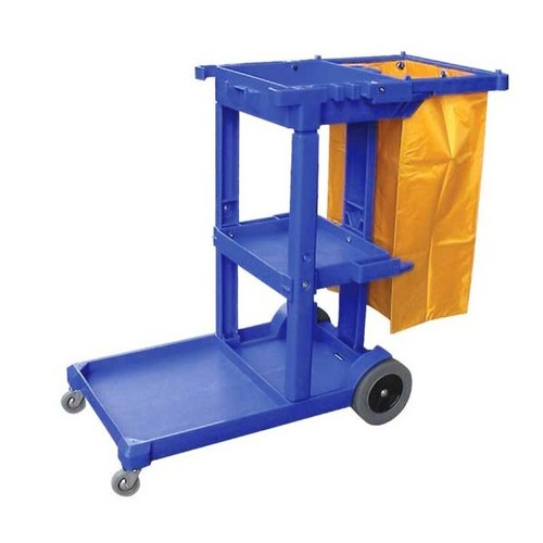 Janitors Trolley And Bag
