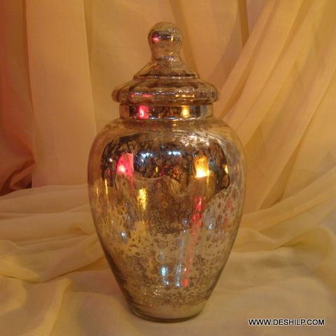 Wholesale Glass Jar with glass lid Storage jar Glass Long Jar