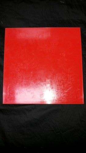 Silicon Rubber Red Sheets