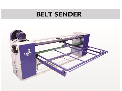 Plywood Belt Sander Machine