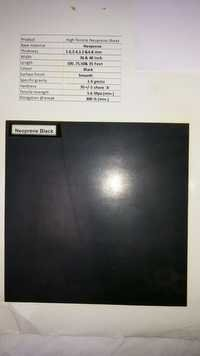 Neoprene Black sheets