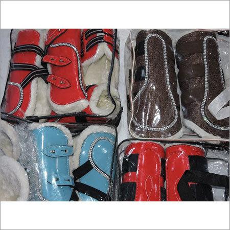 Horse Brushing Boots