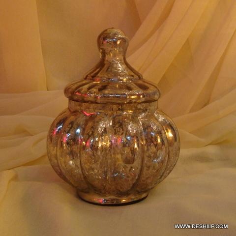 Wholesale Glass Jar with glass lid Storage jar