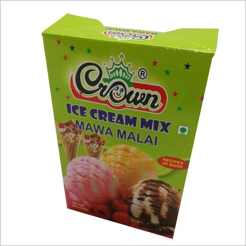Ice Cream Powder Box