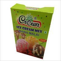 Ice Cream Powder Box
