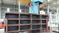 Vertical gates for hydro power plants