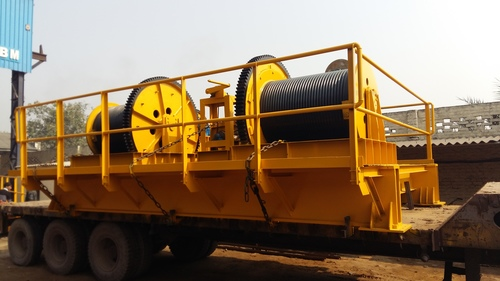 Rope Drum Hoists for Gate Lifting
