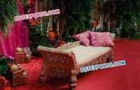 Muslim Mehandi Stage Carved Sofa