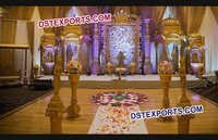 Royal Castle Wedding Stage
