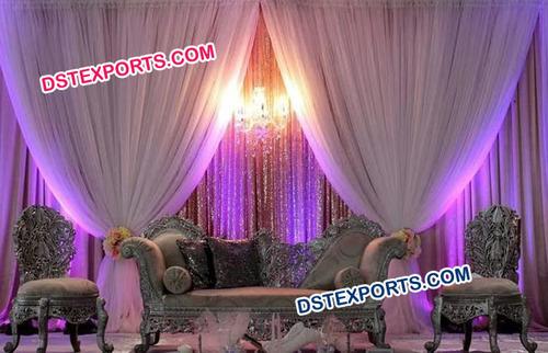 Latest Design Silver Wedding Furniture