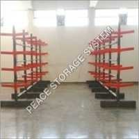 Double Sided facing  cantilever Rack