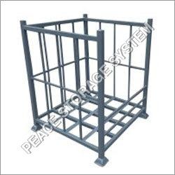 Mild Steel Storage Folding Bin