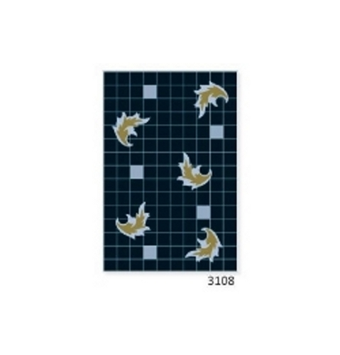 200 x 300 Luster Black Wall Tiles