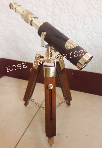 NAUTICAL TRIPOD TELESCOPE
