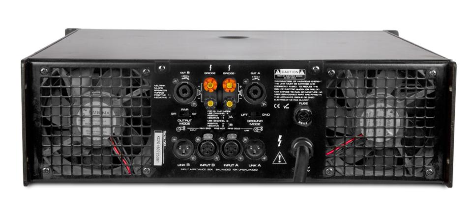 Dual Channel Power Amplifier (TD 4502)