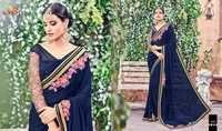 Embroidered Ladies Saree