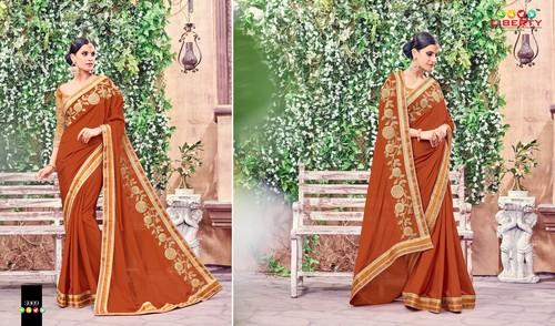 Embroidered Latest Fashion Saree