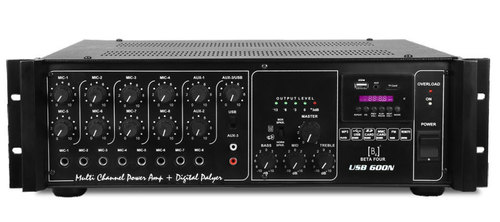 High Power PA Amplifier with Digital Player