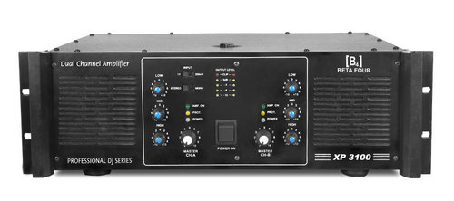 Dual Channel PA & DJ Amplifier (XP 3100)