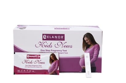 Elanor Pregnancy Test Card Length: 62  Centimeter (Cm)