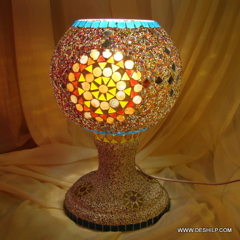 Modern Mosaic table lamps