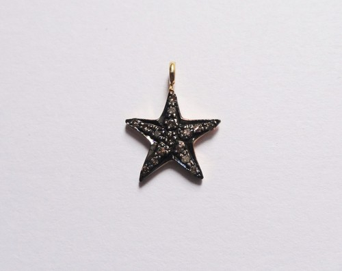 Diamond Star Charms Pendant