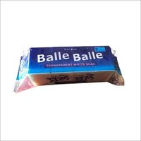 balle balle transparent white washing soap