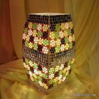 Beautiful Cut Glass Table Lamp Glass Table Lamp
