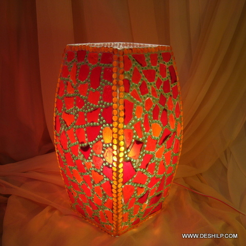Modern Design Glass Touch Bedside Table Lamp Light