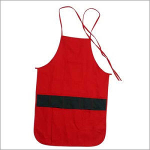 Red Black Combi Apron