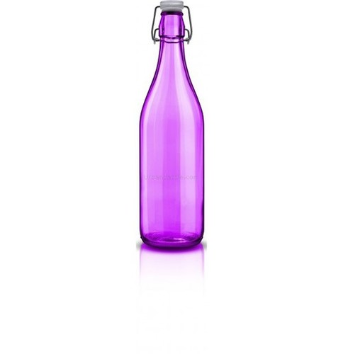 Decover Lella Bottle Spruz Viola with Transparent Lid 1000ml