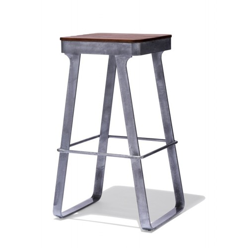 Mid-century Industrial Bar Stool