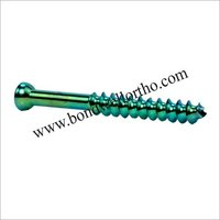 Orthopaedic Implants  6.5 mm Large Cannu Screws
