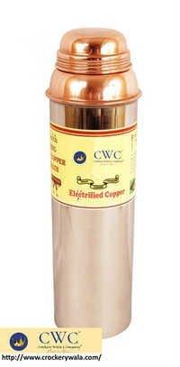 Thermos Design Steel Copper Bottle, 850 Ml
