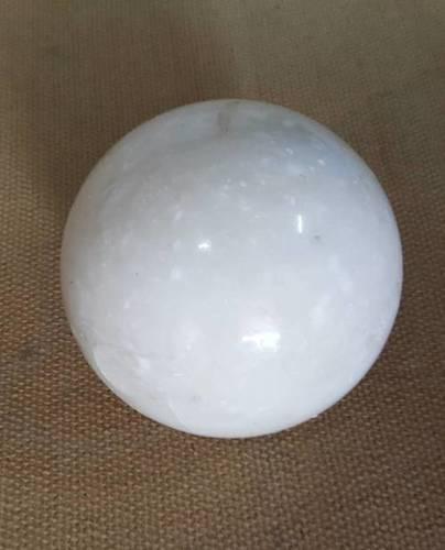 White Marble Ball