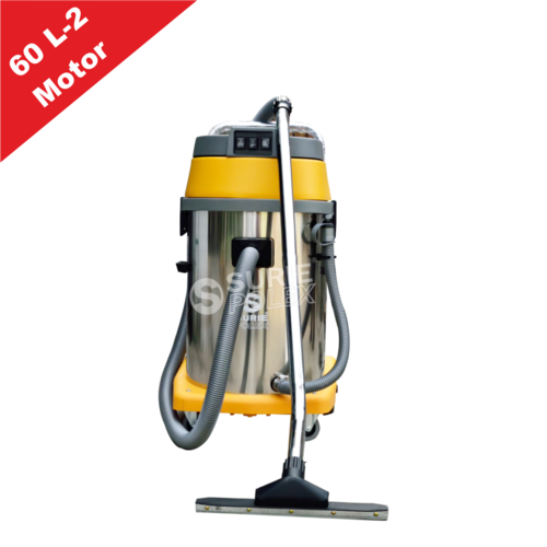 Wet & Dray Vacuum Cleaner 60ltr 2 Motor