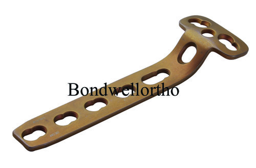 Orthopaedic Implants T Buttress Plates 4.5 mm