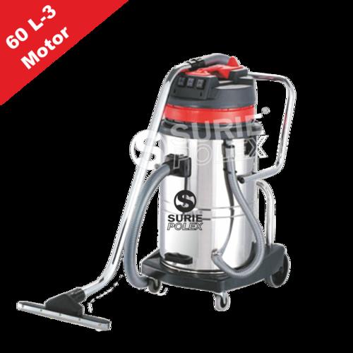 Wet & Dry Vacuum Cleaner 60Ltr 3 Motor