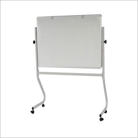 Enamel Whiteboard Mobile Stand Two-Way