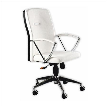 Terra Chrome Lever Executive Chair