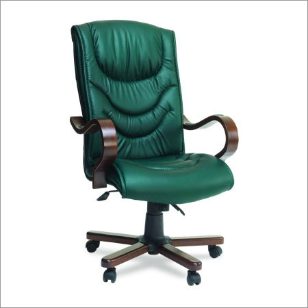 Midas Wooden Arm Executive Chair